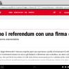 Il prof Ainis ci da ragione, referendum oramai vietati per i cittadini