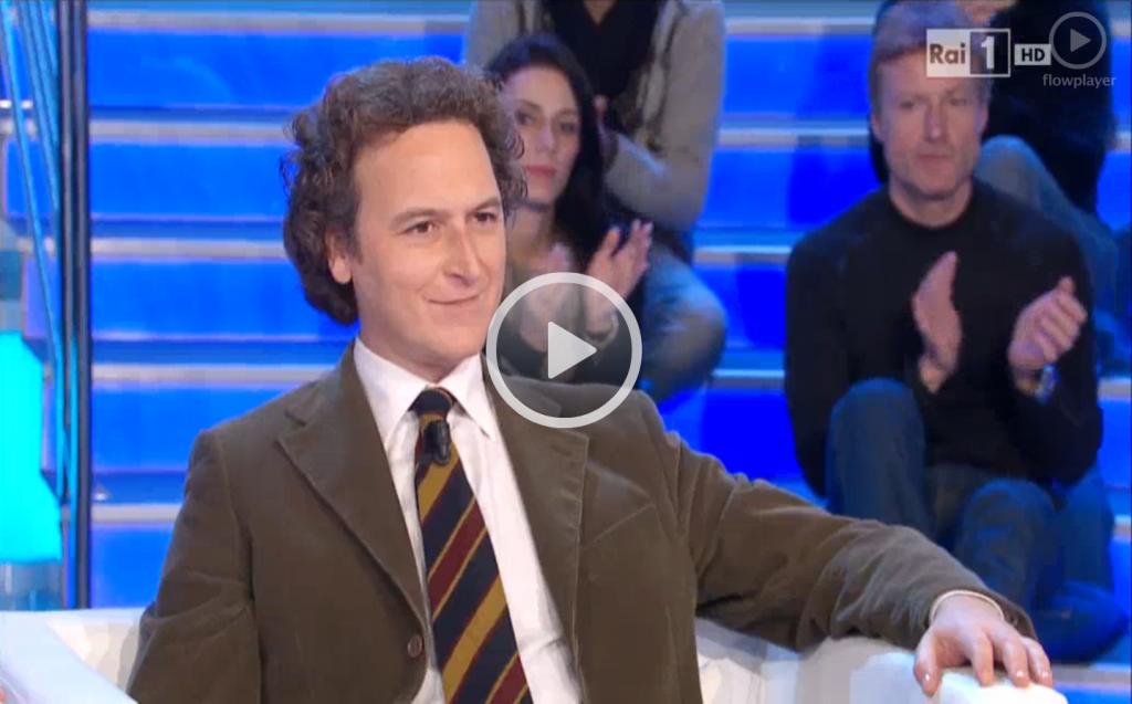 Mario Staderini a La Vita in Diretta Rai 1